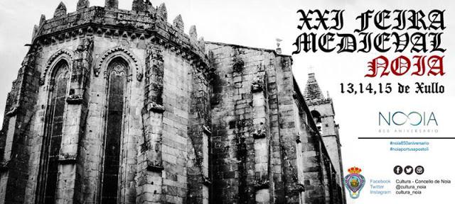 Feira Medieval de Noia Historia, Feiras e mercados medievais