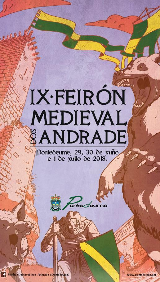 Feirón Medieval dos Andrade, Pontedeume Historia, Feiras e mercados medievais