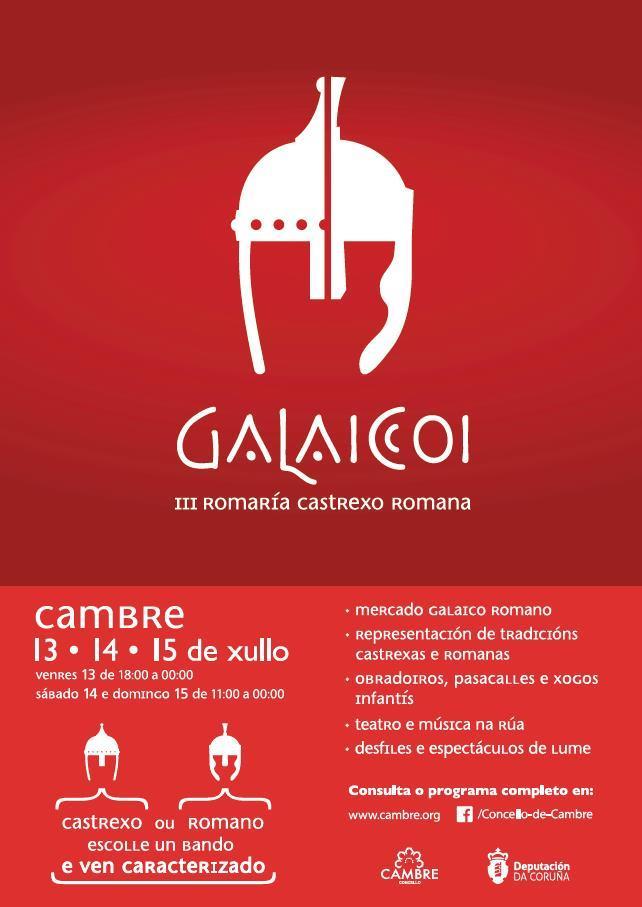Galaicoi, Cambre Historia, Feiras e mercados castrexos, Feiras e mercados romanos