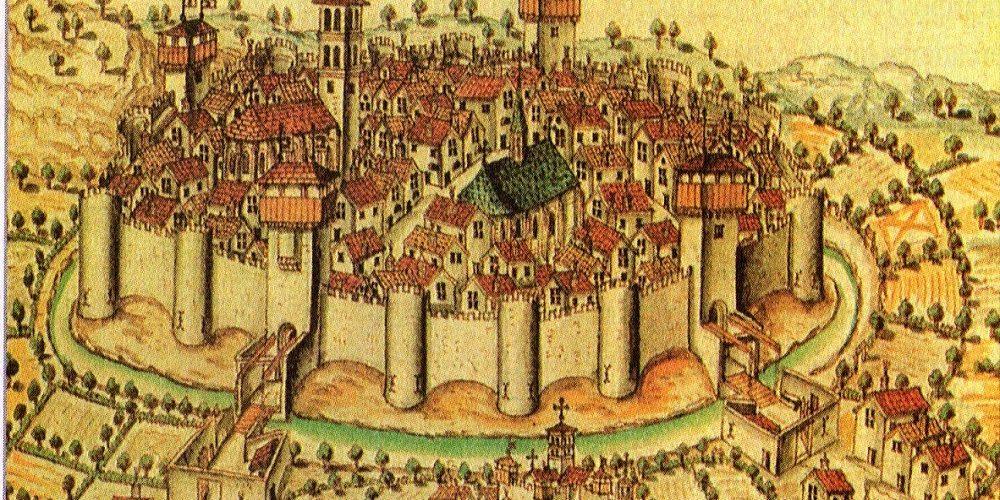 La Vida En Una Ciudad Medieval Recreación De La Historia