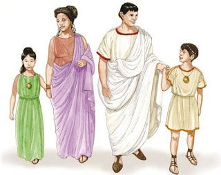 Vestiario na Roma antiga. Roupa infantil Recuncho da historia, Historia, Mundo Romano