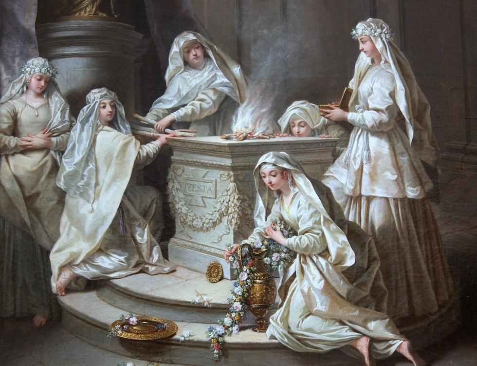 As Vestales en Roma Recuncho da historia, Historia, Mundo Romano