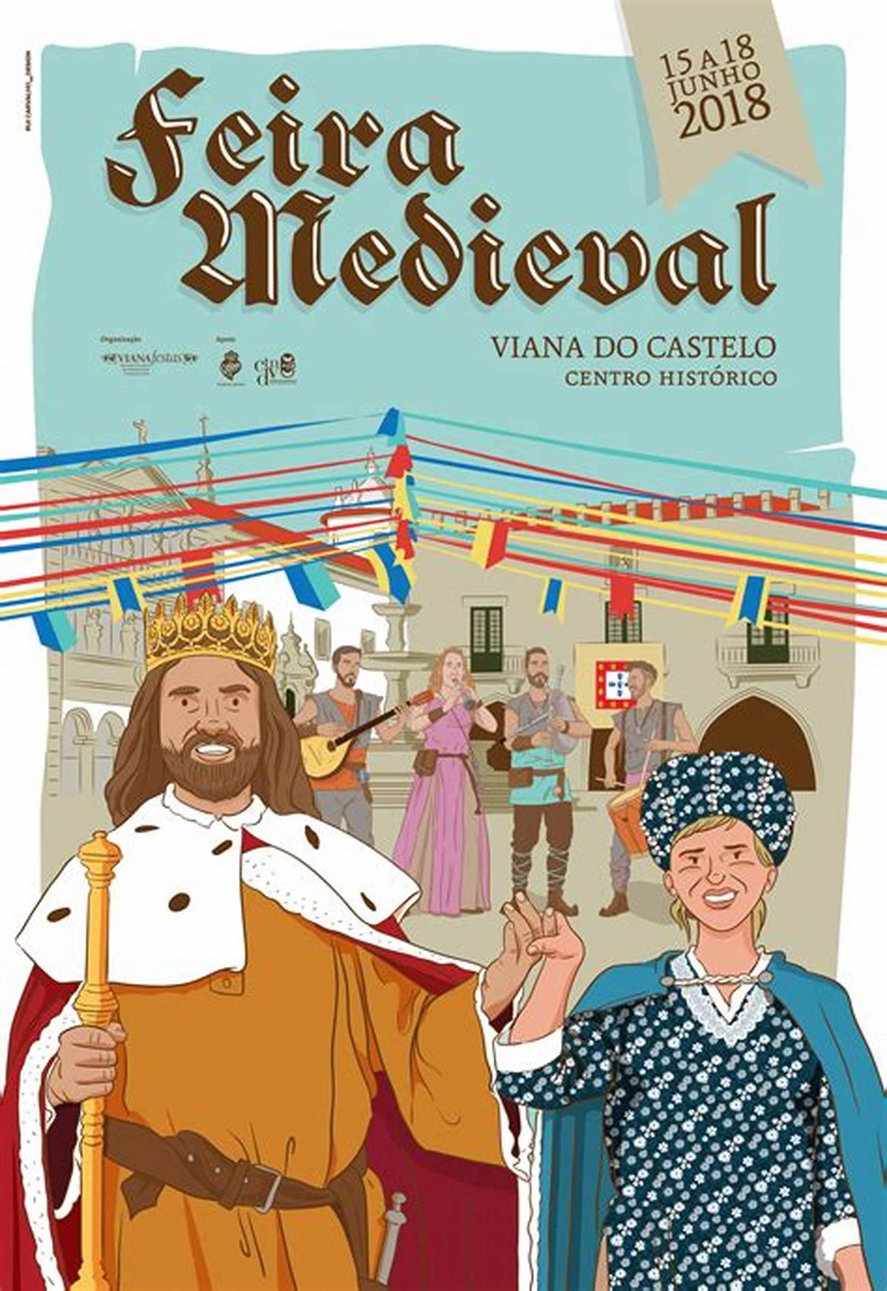 Feira Medieval, Viana do Castelo Historia, Feiras e mercados medievais