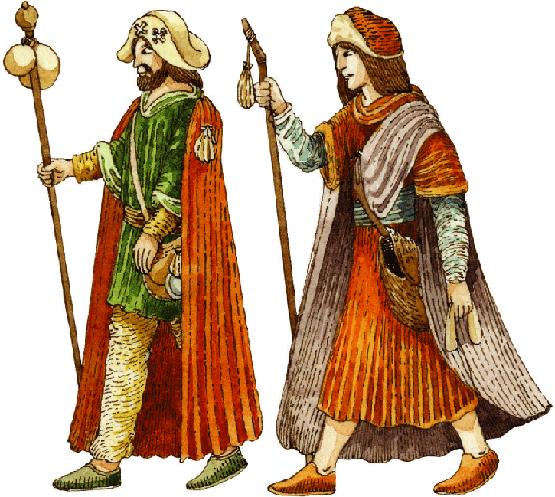 As oríxes do Camiño de Santiago Historia, Recuncho da historia