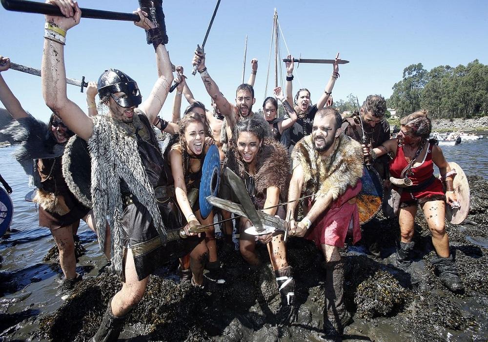 Romería Vikinga de Catoira, 2019