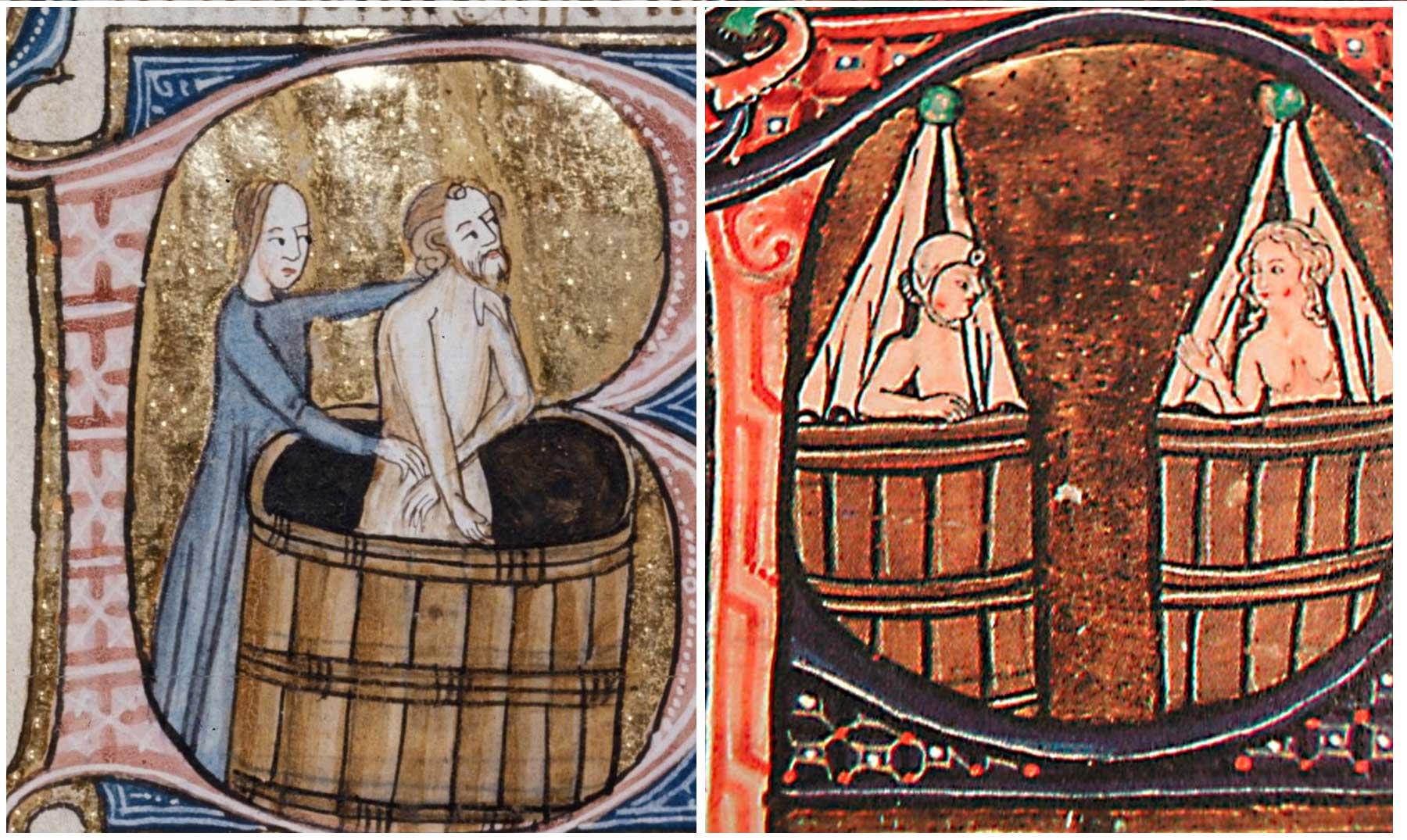 A hixiene persoal na Idade Media Edad Media, Historia, Idade Media, Recuncho da historia