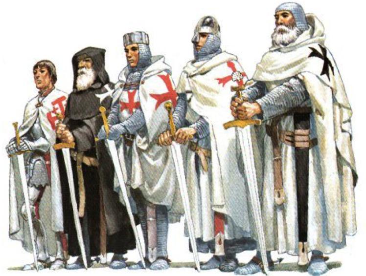 Quen eran os Templarios? Historia, Idade Media, Recuncho da historia