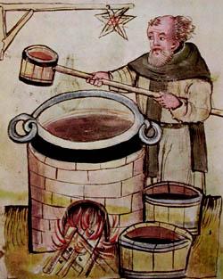 A bebida na Idade Media. Nacen as tapas Historia, Idade Media, Recuncho da historia