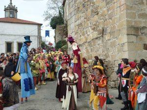 Programa actividades XVII Feria Medieval Monforte de Lemos Ferias y mercados medievales, Historia