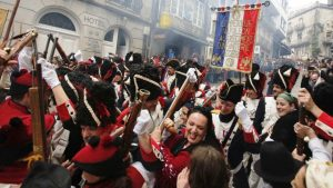 Festa Reconquista, Vigo 2019 Ferias y Mercados, Historia