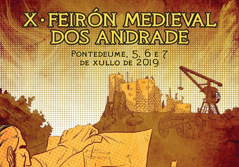 Feirón Medieval dos Andrade 2019, Pontedeume