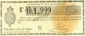Origen de la Lotería en España Rincón de la historia, Edad Contemporánea, Edad Moderna, Historia, Mundo Actual