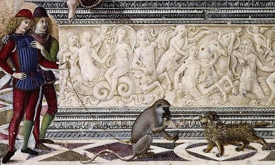 Risa e pecado: o mono na Idade Media Historia, Idade Media, Recuncho da historia