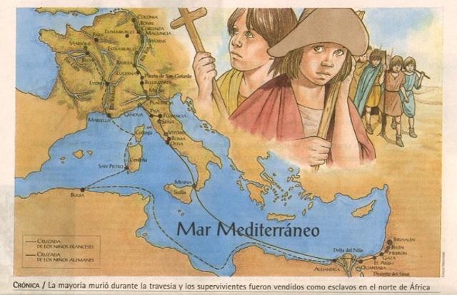 A cruzada dos pobre e dos nenos Historia, Idade Media, Recuncho da historia