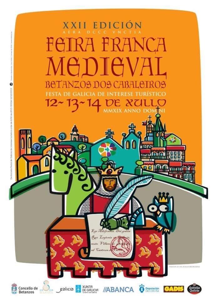 Feira Franca de Betanzos, 2019 Feiras e mercados medievais, Historia