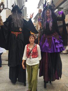 Crónica Feirón dos Andrade, Pontedeume 2019 Ferias y mercados medievales, Historia
