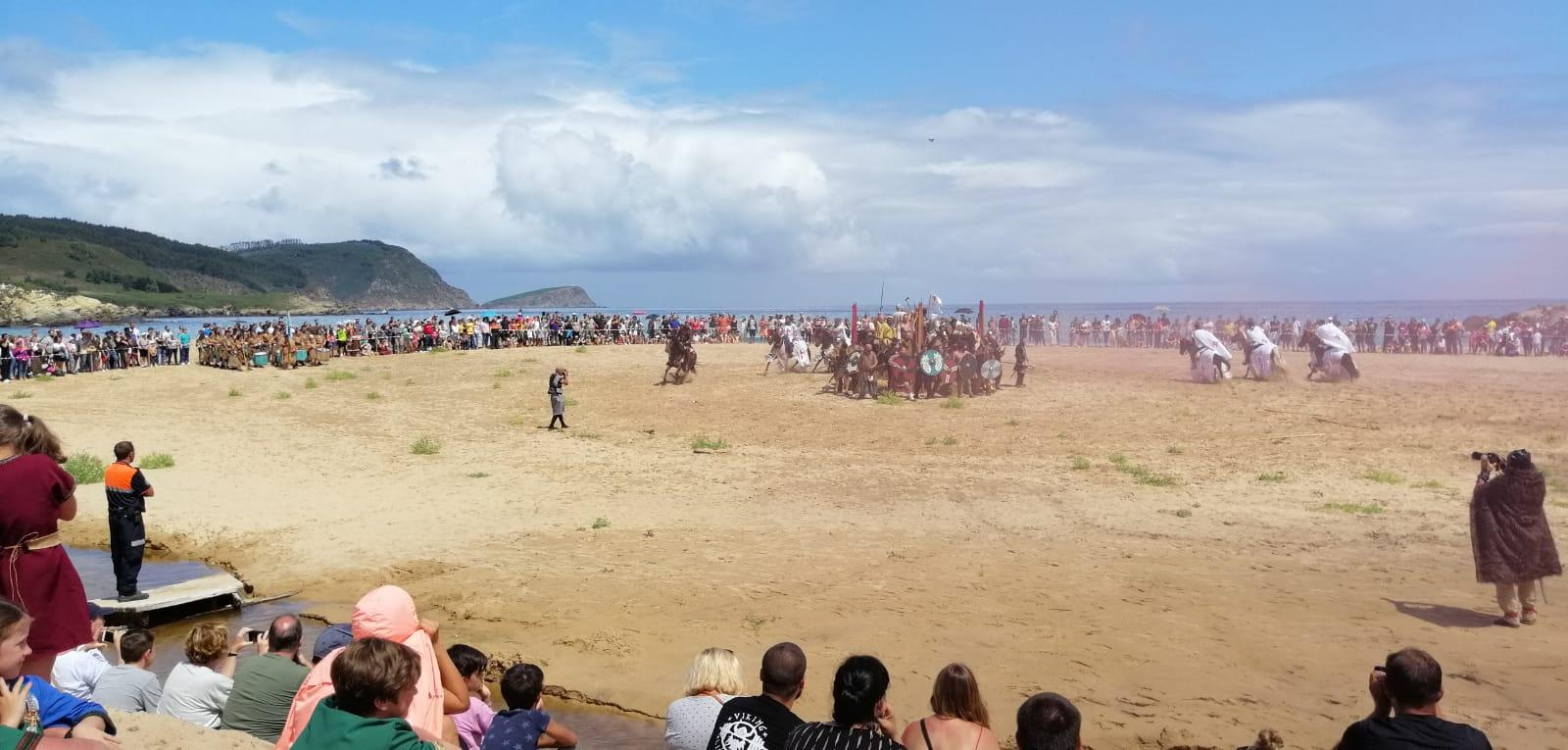 Crónica IV Romaxe viquinga O Vicedo, 2019 Historia, Ferias y mercados normandos/vikingos