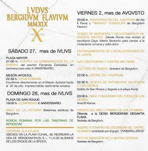 X Ludus Bergidum Flavium, Cacabelos Ferias y mercados romanos, Historia