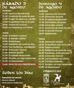 Mercado Medieval La Bañeza