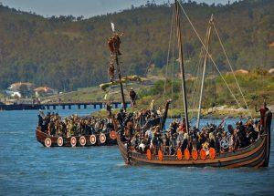 LIX Romería Vikinga en Catoira Ferias y mercados normandos/vikingos, Historia