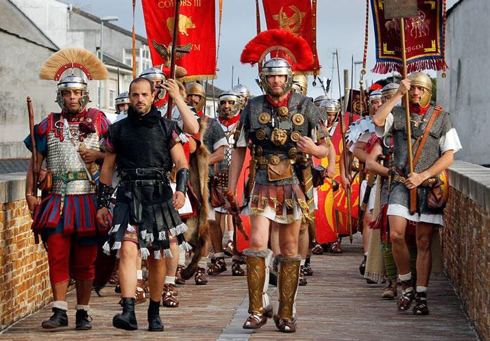 Crónica Arde Lucus 2019 Feiras e mercados castrexos, Feiras e mercados romanos, Historia