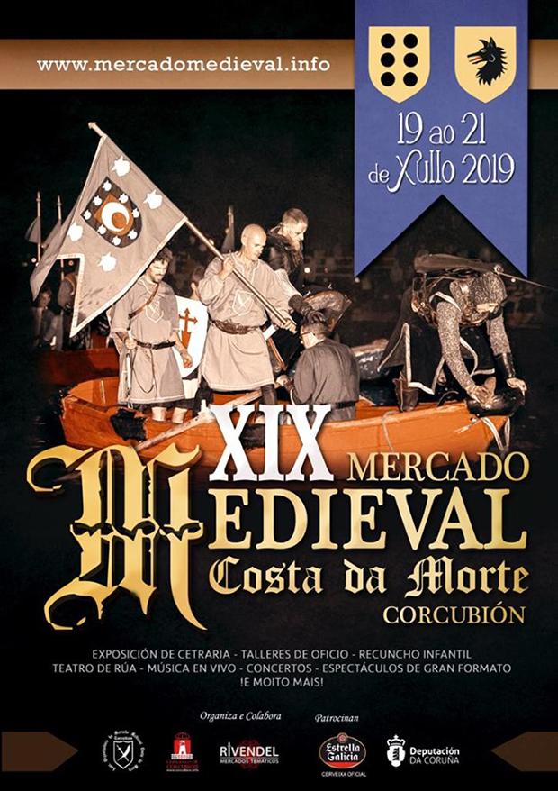 XIX Mercado Medieval Costa da Morte, Corcubión 2019 Historia, Feiras e mercados medievais