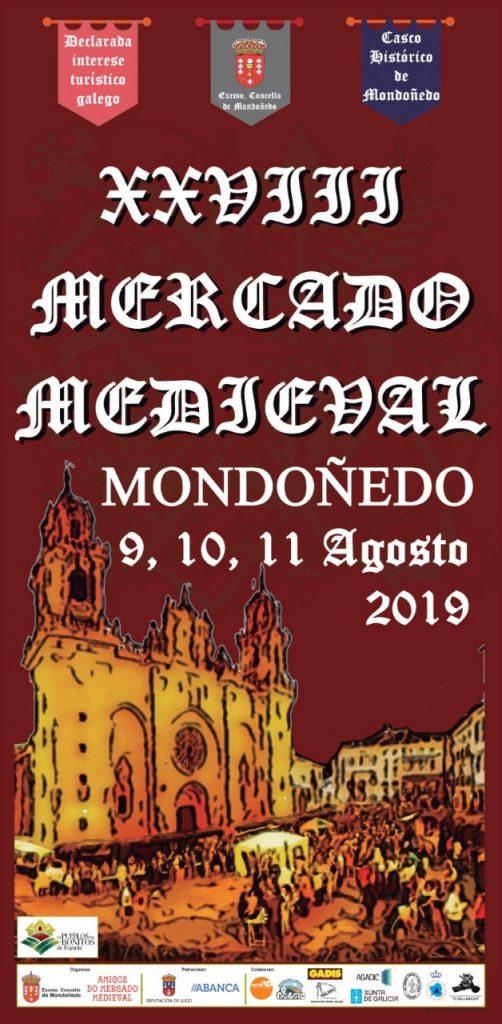 Programación XXVIII Mercado Medieval Mondoñedo, 2019 Feiras e mercados medievais, Historia