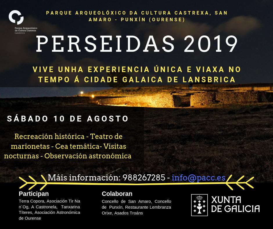 Noite de las Perseidas, San Cibrao de Las, Ourense Historia, Qué facer, Qué ver