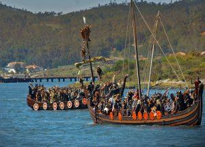 Crónica LIX Romaría Vikinga, Catoira 2019 Feiras e mercados normandos/viquingos, Historia
