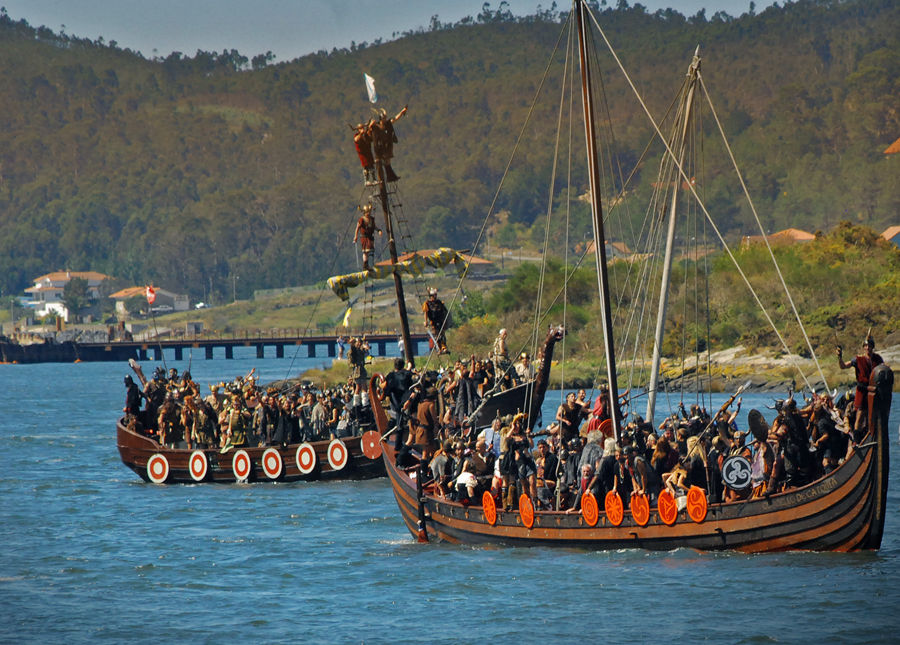 Crónica LIX Romería Vikinga, Catoira 2019 Ferias y mercados normandos/vikingos, Historia