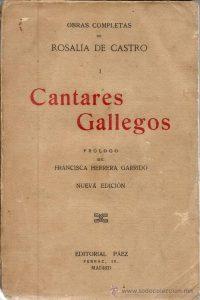Cantares gallegos de Rosalía de Castro