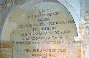 Tumba Rosalía de Castro