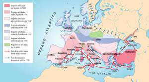 A peste na Idade Media Historia, Idade Media, Recuncho da historia