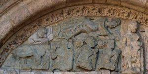 Representación da Epifanía na arte do Camiño de Santiago Historia, Idade Media, Recuncho da historia