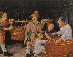 A vida familiar durante a Idade Media Historia, Idade Media, Recuncho da historia