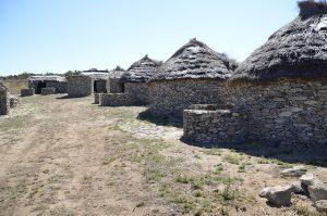 Celanova, recreación del poblado Castrexo