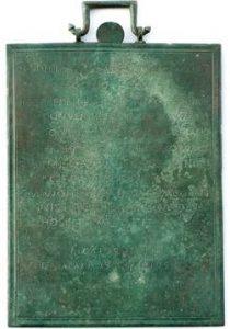 Tábula (¿o Tessera) de Castromao