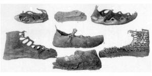 Calzado en la antigüedad