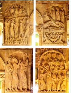 En Claustro del Monasterio de Silos
