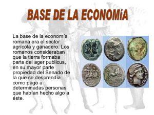 Base economía romana