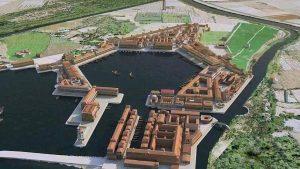 Recreación Puerto de Ostia