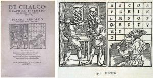 Tratado del año 1541. Alfabeto compuesto por 23 letras