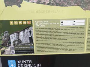 Camiño Real, San Pedro de las Rocas