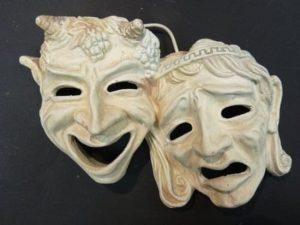 Máscaras teatro griego