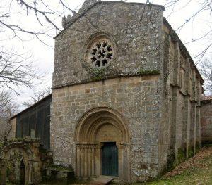 Fachada de Santa Cristina de Ribas do Sil