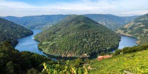 La Ribeira Sacra, entre las provincias de Lugo y Ourense