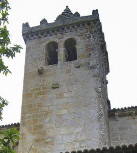 Torre del Monasterio de Santa Cristina de Ribas do Sil