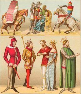 La nobleza en la Edad Media