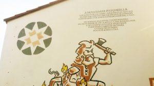 Pintura mural Irmandade Fusquenlla