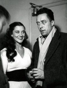 María Casares y Albert Camus